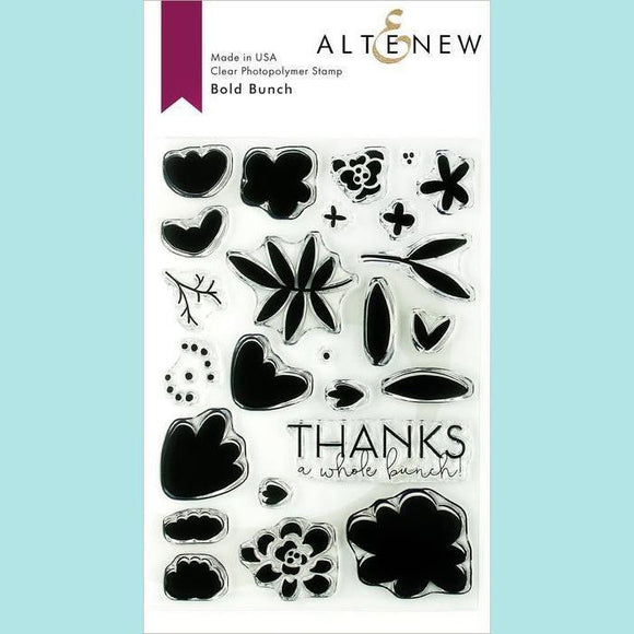 Altenew - Bold Bunch Stamp and Die