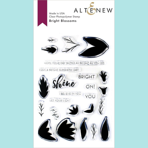 Altenew - Bright Blossoms Stamp and Die
