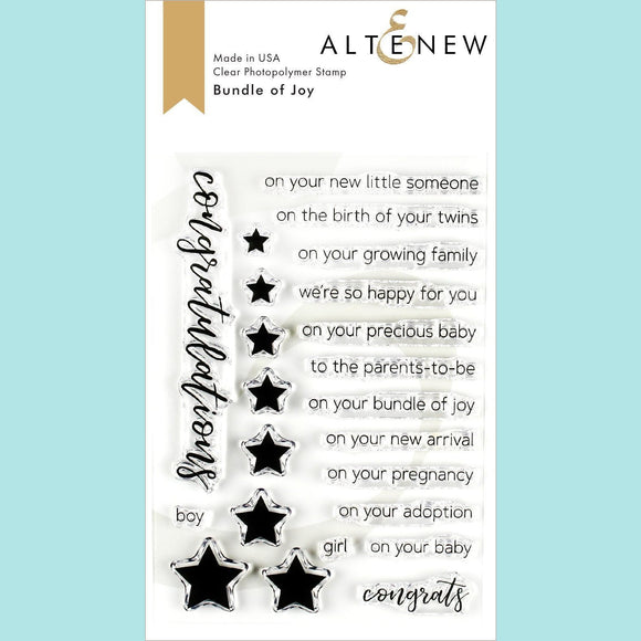 Altenew - Bundle of Joy Stamp and Die