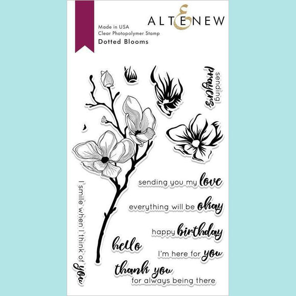 Altenew - Dotted Blooms Stamp and Die
