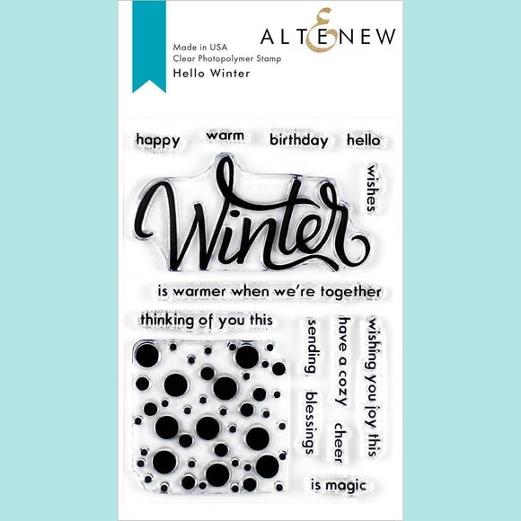Altenew -  Hello Winter Stamp