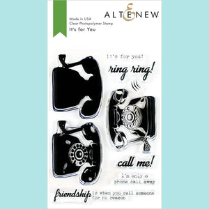 Altenew - It's For You Stamp and Die