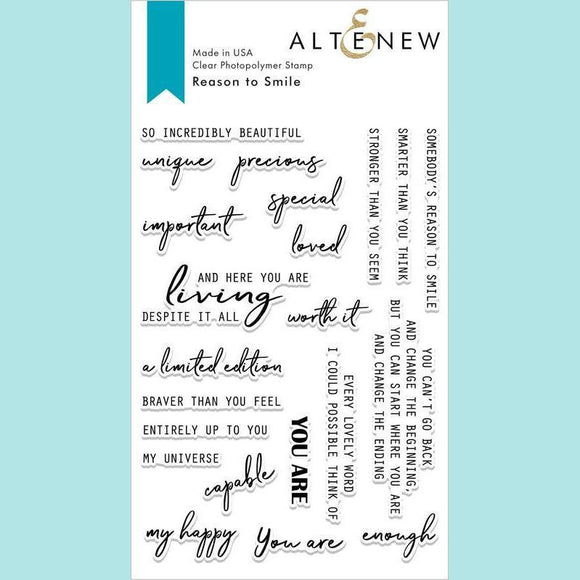 Altenew - Reason to Smile Stamp Set