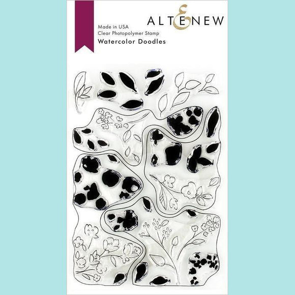 Altenew - Watercolor Doodles Stamp Set