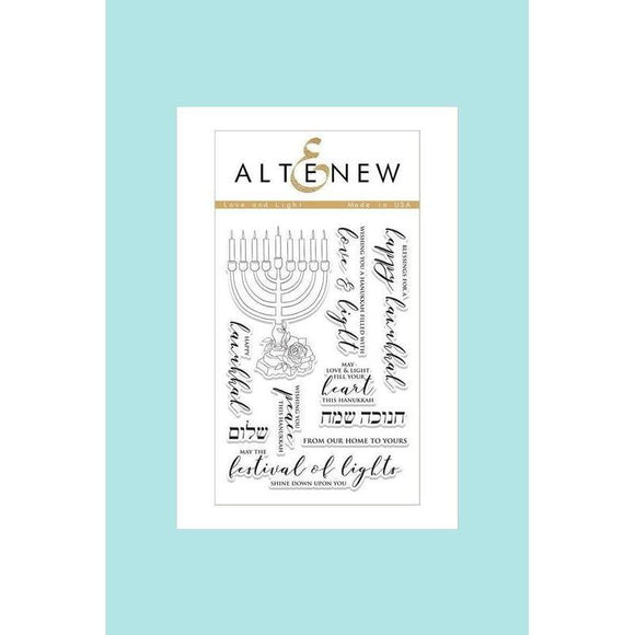 Altenew - Love and Light Stamp and Die
