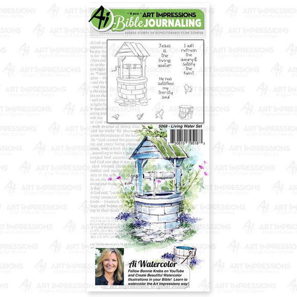 Art Impressions - Living Water Set Stamp Set