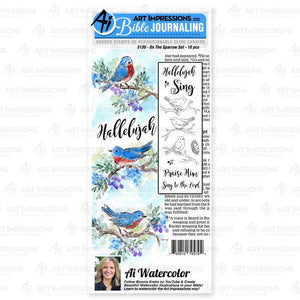 Art Impressions - On The Sparrow Stamp Set