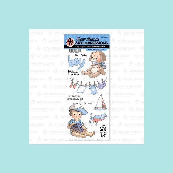 Art Impressions - 5184 – Baby Boy Clear Stamp Set