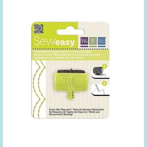 We R Memory Keepers - WRMK - Seweasy Stitch Piercer (Large Scallop)