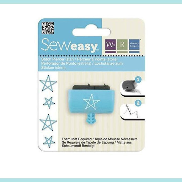 We R Memory Keepers - WRMK - Seweasy Stitch Piercer (Star)