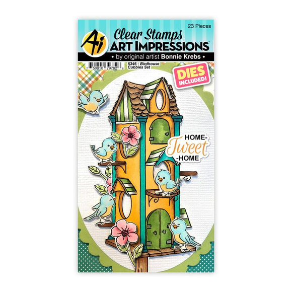 Art Impressions – Birdhouse Cubbies Set