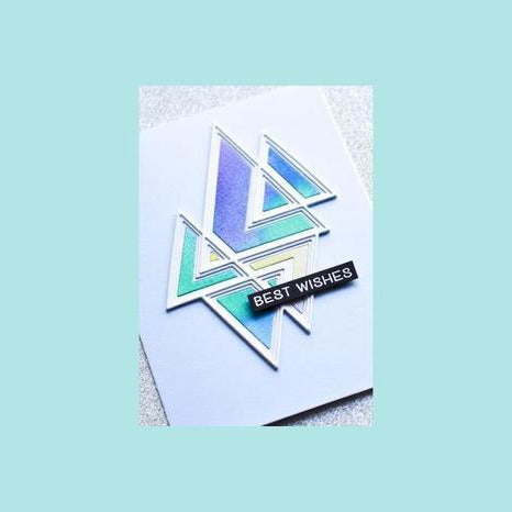 Birch Press - Prismatic Triangle Layer Set
