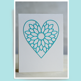 Birch Press Dahlia Heart Layer Set