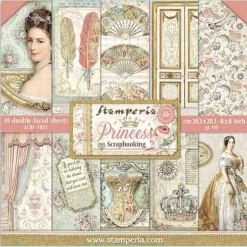 Stamperia - Block Sheets - Double Face Princess