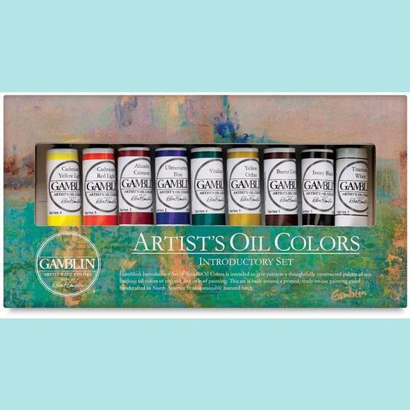 Gamblin - Artist Oil Colors Introductory Set