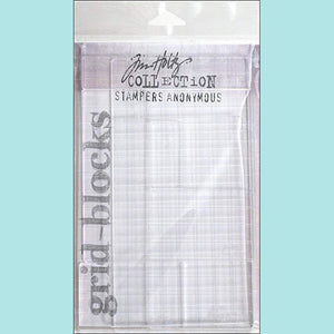 Stampers Anonymous - Tim Holtz Grid Blocks