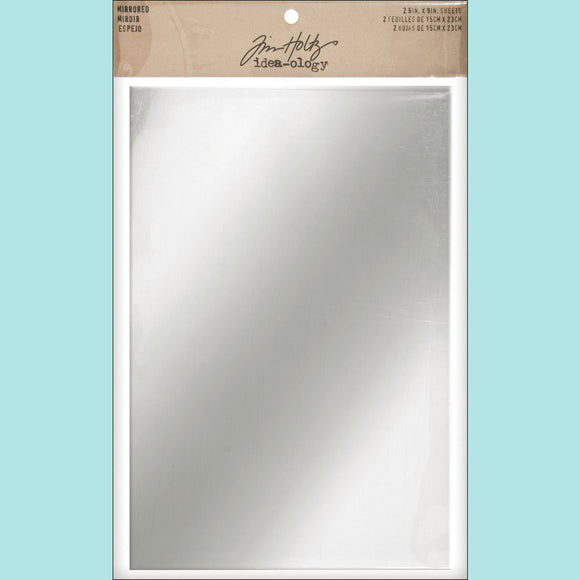 Tim Holtz Idea-ology Mirrored Sheets