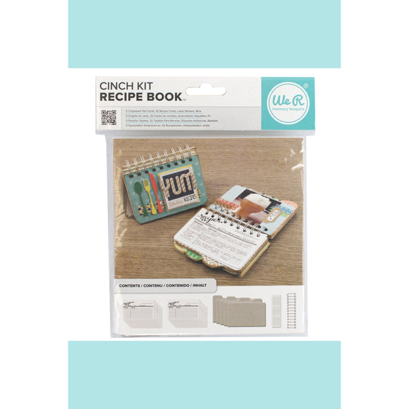 We R Memory Keepers - Cinch Kit Recipe Book