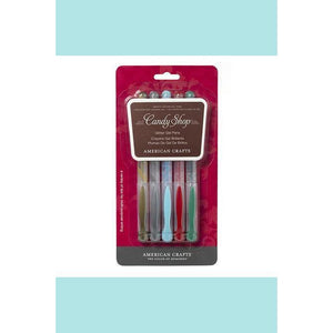 American Crafts - Gel Pen Set 5pk - Christmas