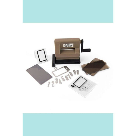 Sizzix - Sidekick Starter Kit (Brown & Black) featuring Tim Holtz designs