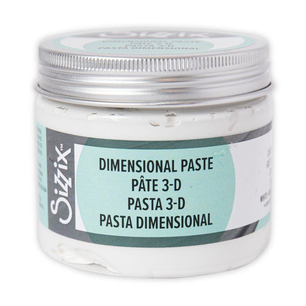 Sizzix Effectz - Dimensional Paste, White, 150ml