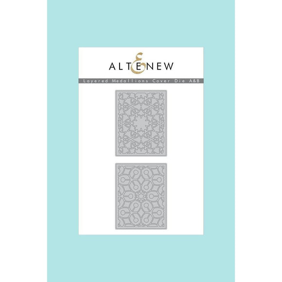 Altenew Layered  Medallions Cover Die A & B Bundle