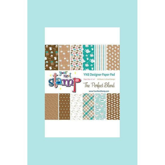 Your Next Stamp - The Perfect Blend Paper Pad - Card Stock