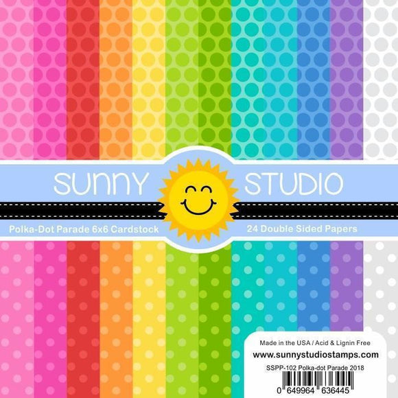 Sunny Studio Stamps - Classic Gingham Paper