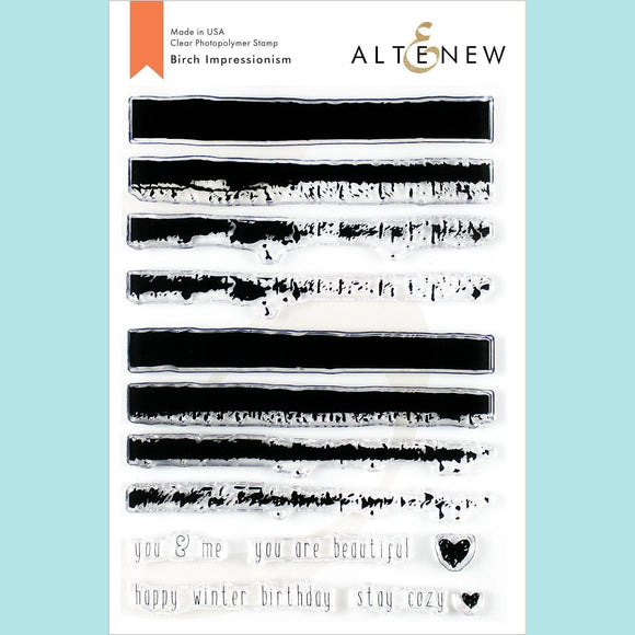 Altenew - Birch Impressionism Stamp and Die