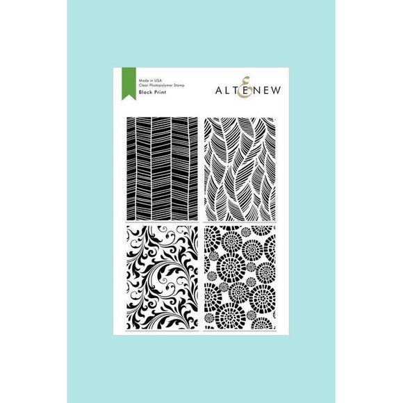 Altenew Block Print Stamp Set