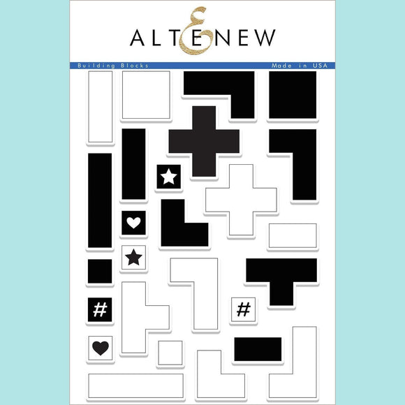 Altenew - Building Blocks Stamp and Die