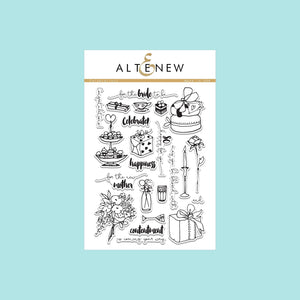 Altenew -  Celebrations Art Stamp and Die