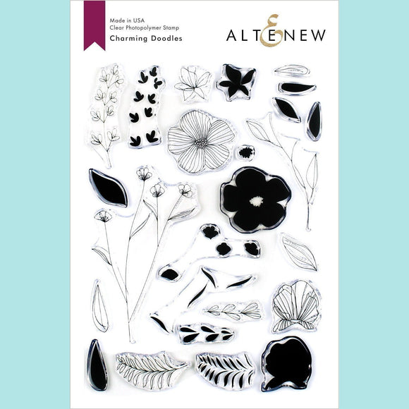 Altenew - Charming Doodles Stamp and Die