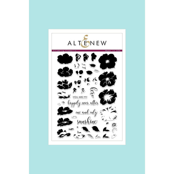 Altenew Climbing Clematis Stamp & Die Sets