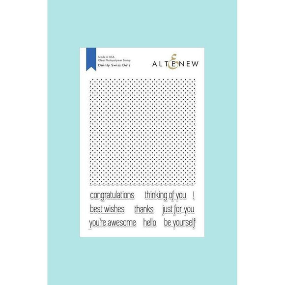 Altenew - Dainty Swiss Dots Stamp Set