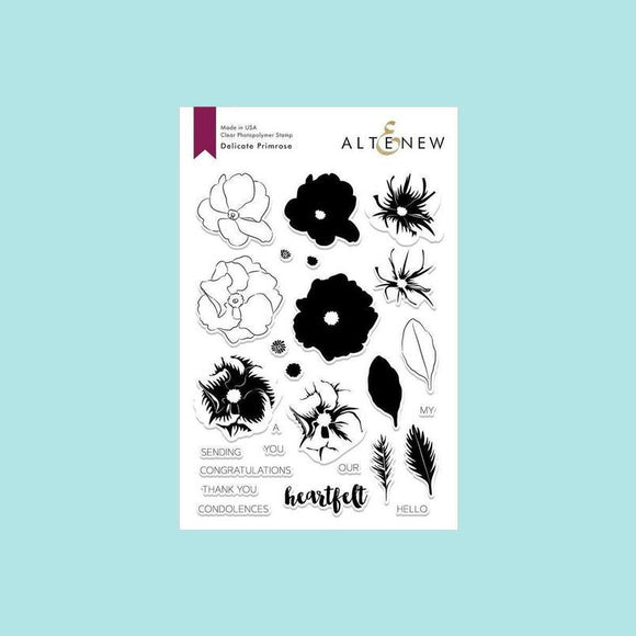Altenew - Delicate Primrose Stamp and Die