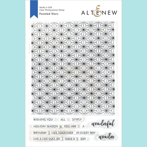 Altenew - Faceted Stars Stamp Set