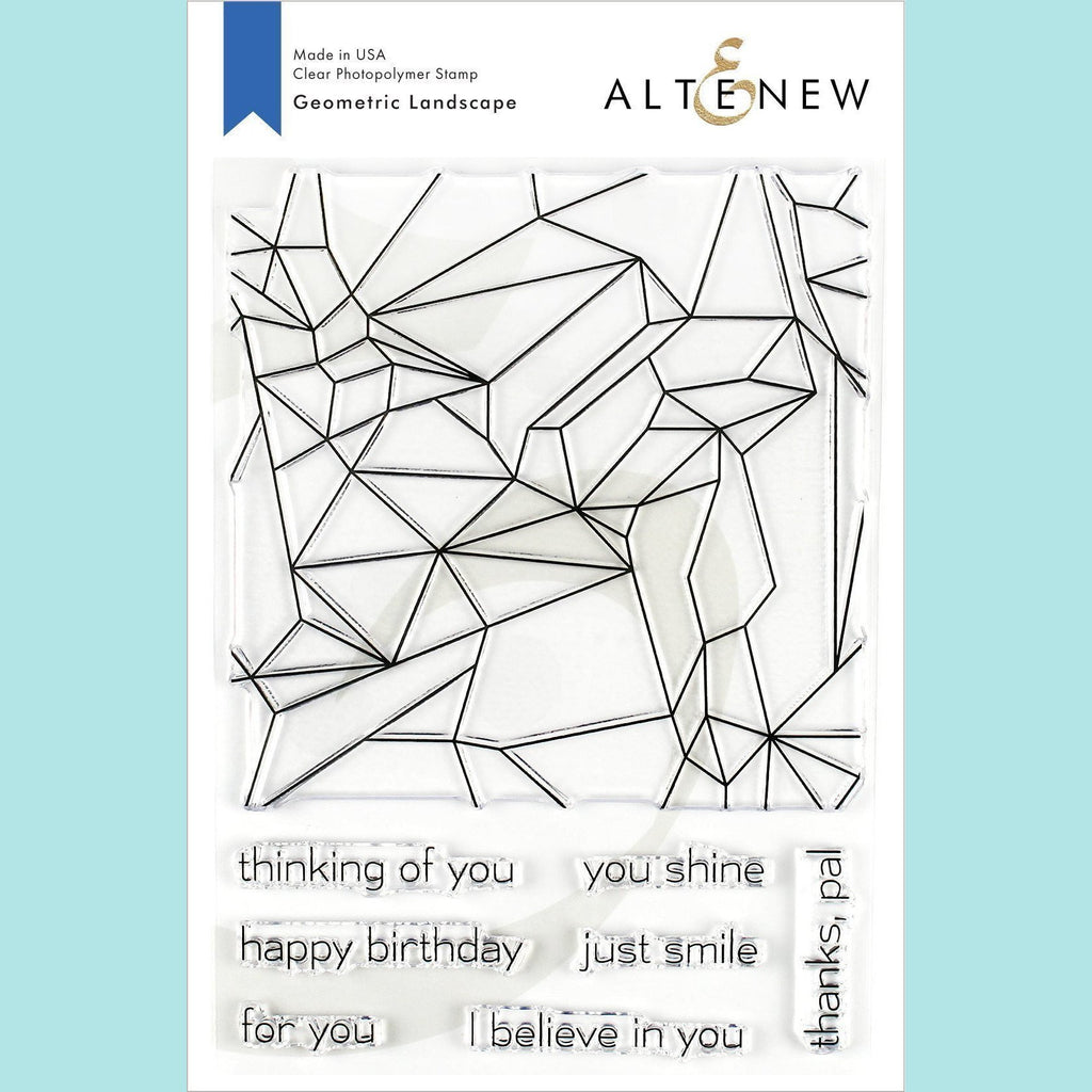 Altenew - Geometric Landscape Stamp Set