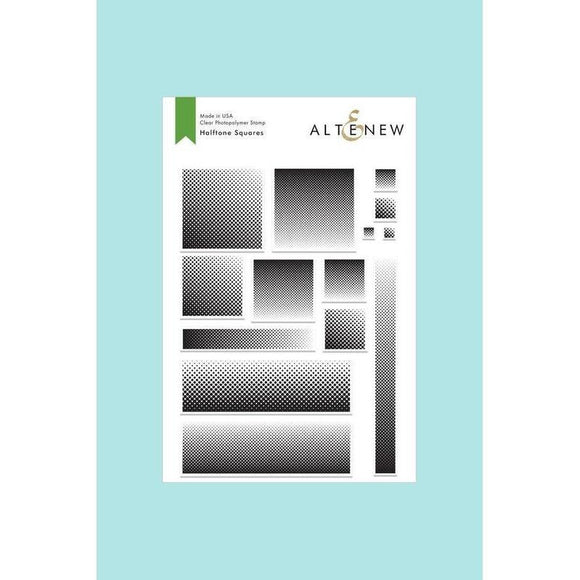 Altenew - Halftone Squares Stamp and Die