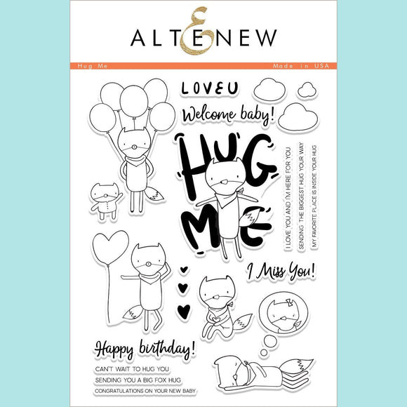 Altenew - Hug Me Stamp Set