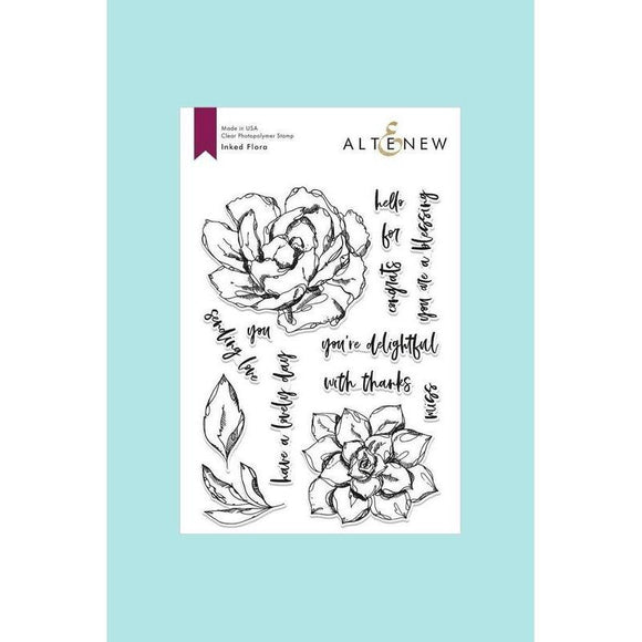 Altenew - Inked Flora Stamp and Die