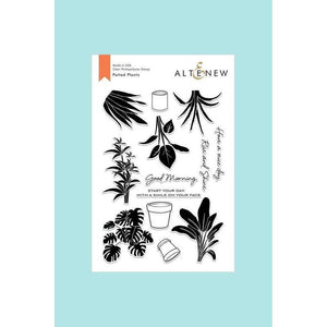 Altenew - Potted Plants Stamp and Die