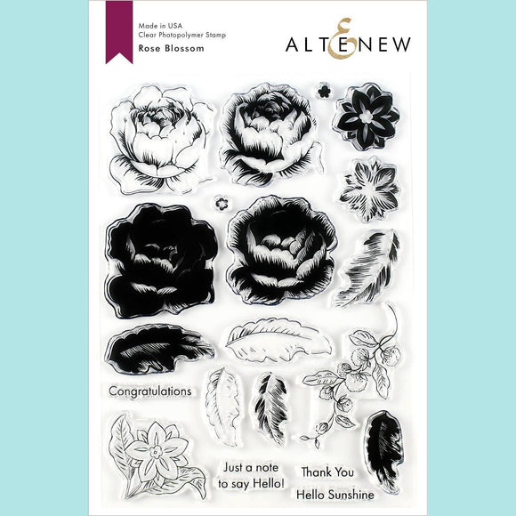 Altenew -  Rose Blossom Stamp