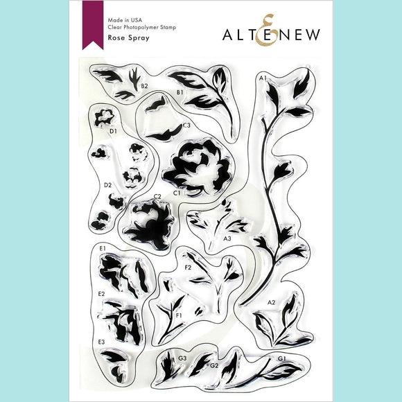 Altenew - Rose Spray Stamp and Die