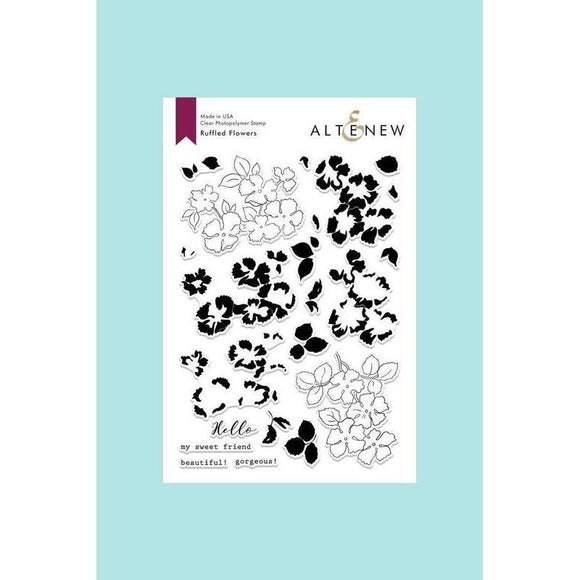 Altenew - Ruffled Flowers Stamp and Die