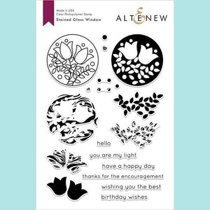 Altenew - Stained Glass Window Stamp and Die