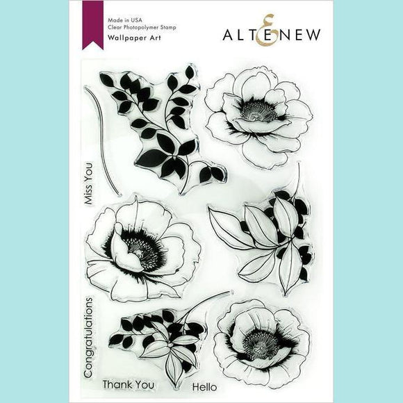 Altenew -  Wallpaper Art Stamp and Die