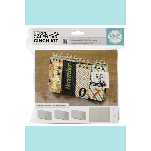 We R Memory Keepers - Cinch Kit Perpetual Calendar