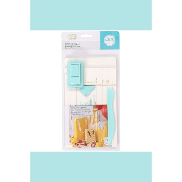 We R Memory Keepers - WRMK - Punch Board - Gift Bag