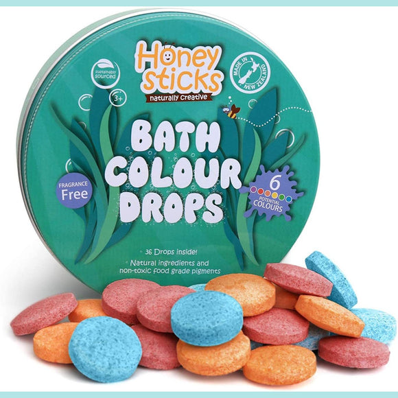 Honeysticks - Bath Colour Drops